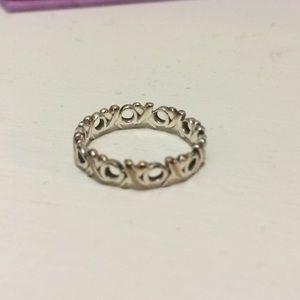 Tiffany and co xo ring